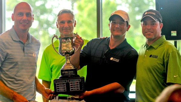 Congratulations to David Sergile and STONE Resource Group, winners of this year's tournament.